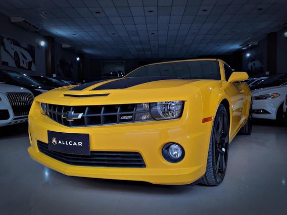 Chevrolet Camaro Ss V8 6.2. Amarelo 2011/12
