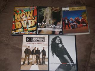 Lote De 5 Dvd Cristina A Música Variada*solo $169 Oferton!