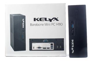 Mini Pc Kelyx Intel I3 7100 500gb 4gb Teclado Mouse Garantia