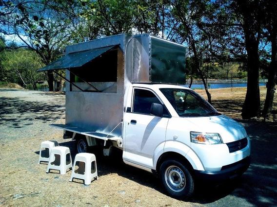 Food Truck Suzuki Apv Totalmente Equipado