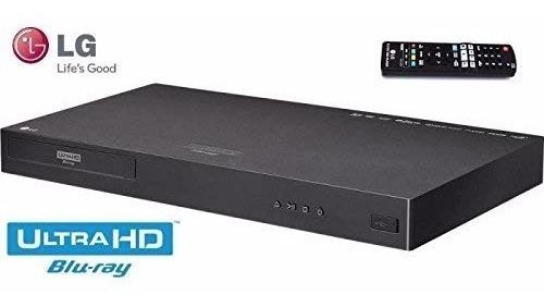 Blu-ray Player Lg 4k Up870 Região Free Disc Player