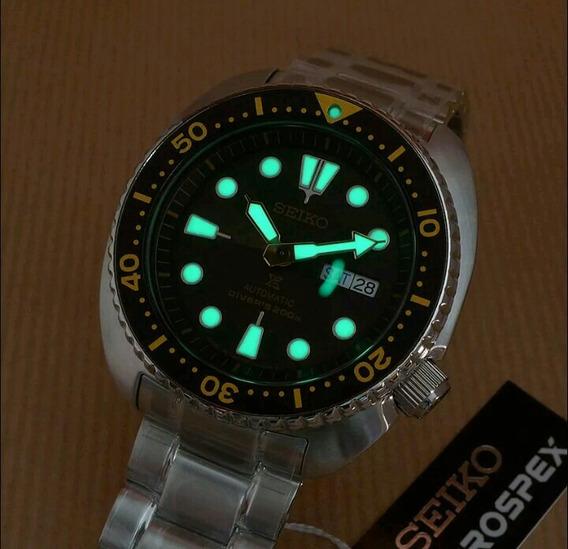 Relógio Seiko Prospex Turtle 200m Automatic Srp775j1 Japan