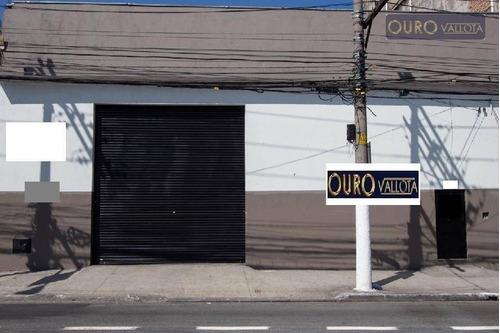 Galpão À Venda, 712 M² Por R$ 2.200.000 - Brás - São Paulo/sp - Ga0811