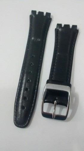 Pulseira Swatch Corvin Preta *irony* 17 E 19mm