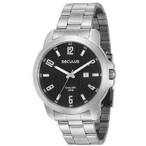 Relógio Prata Masculino Seculus 28927g0svna1