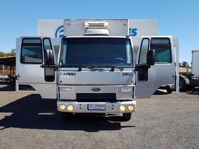 Ford - Cargo 815 - 2011 - Câmara Fria - Rodonaves Seminovos