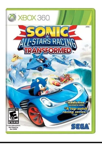 Sonic All Star Racing Transformed-xbox 360-digital