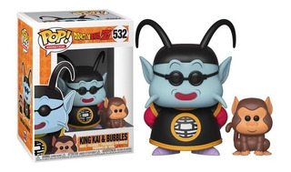 Funko Pop! King Kai & Bubbles 532 - Dragon Ball Z Muñeco