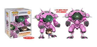 Funko Pop! Games #177 Overwatch: D.va W/meka 6