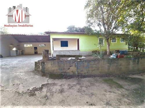 Imagem 1 de 24 de Linda Chácara Com 2 Dormitórios, Pomar, Bem Localizada,  À Venda, 1700 M² Por R$ 220.000 - Rural - Socorro/sp - Ch0960