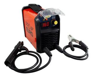Máquina Solda Inversora Mma 160 220v Pró Euro
