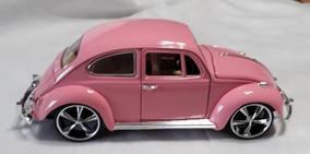 Miniatura Fusca 1967 Escala 1.18 Volkswagem Beetle