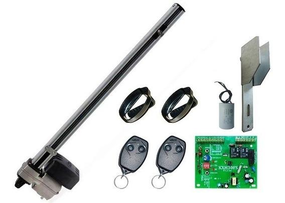 Kit Motor Basculante Rossi Nano 1/3hp + Suporte 2 Trava Elet