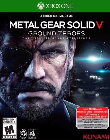 Jogo Metal Gear Solid V Ground Zeroes Xbox One Mídia Física