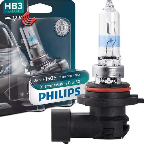 Imagem 1 de 4 de Lâmpada Philips X-treme Vision Pro150 Hb3 60w 12v Mais Luz