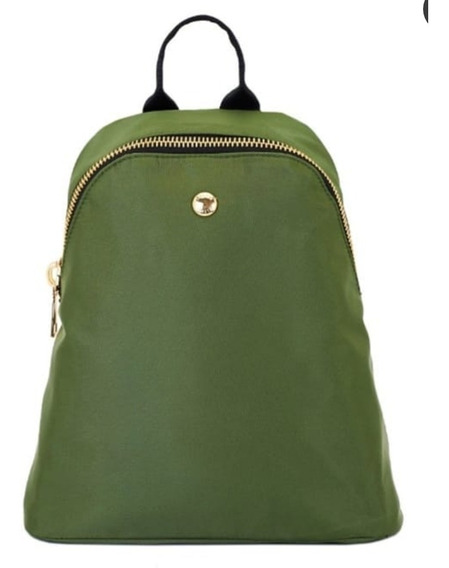 Mochila Jackie Smith Verde Forest Dearbackpack Usada