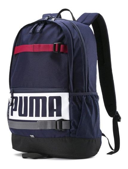 Puma Mochila Escolar Deck Backpack Azul - Corner Deportes
