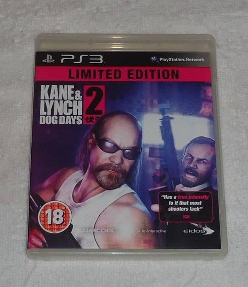 Kane Lynch 2 Dog Days R2 Ps3 ** Frete Grátis Leia