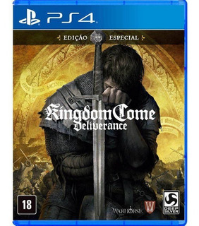 Kingdom Come Deliverance - Ps4 Mídia Física Lacrado