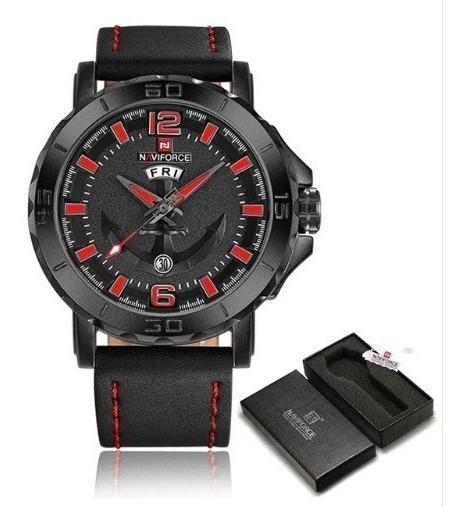 Relógio Masculino Naviforce Nf9122m Azul - Pronta Entrega