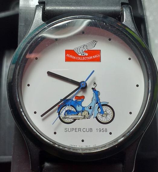 Relógio Honda Super Cube Made In Japan Anos 80