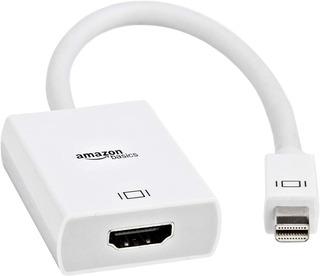 Adaptador Mini Displayport Thunderbolt Hdmi Mac Amazonbasics