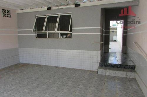 Imagem 1 de 23 de Casa Com 3 Dormitórios, 140 M² - Venda Por R$ 297.000,00 Ou Aluguel Por R$ 1.400,00/mês - Parque São Jerônimo - Americana/sp - Ca1564