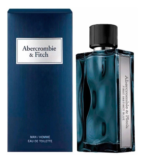 Perfume Abercrombie &fitch First Instinct Blue 100ml Edt