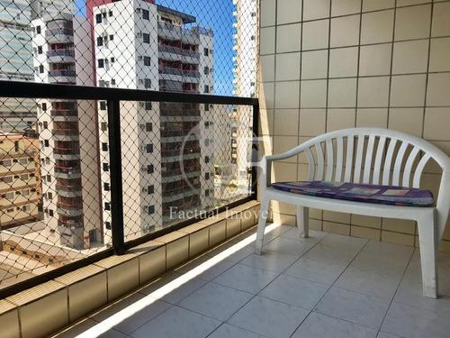 Apartamento Com 2 Dormitórios À Venda, 80 M² Por R$ 450.000 - Praia Da Enseada - Guarujá/sp - Ap9474