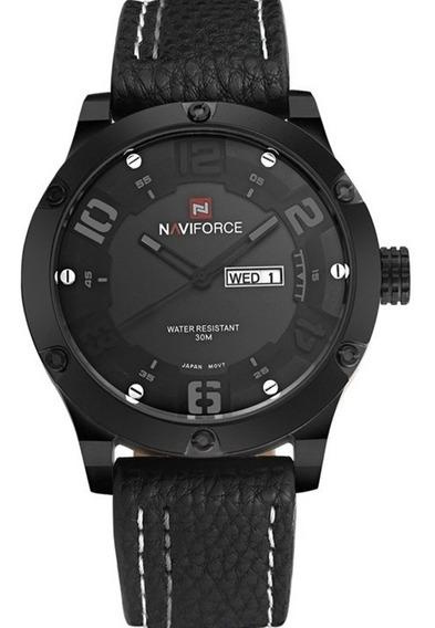 Relógio Masculino Naviforce 9070 De Pulso Frete Grátis