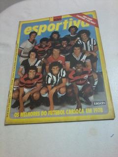Manchete Esportiva Futebol 78 Guina Zico Flamengo Coutinho