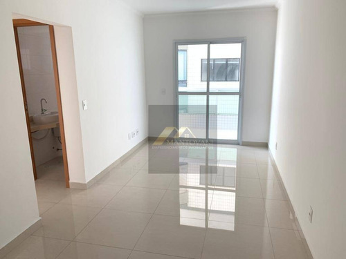 Apartamento À Venda, 82 M² Por R$ 380.000,00 - Vila Guilhermina - Praia Grande/sp - Ap0962