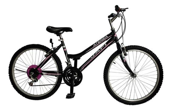 Bicicleta Jafi Montañera Atenea 18v Para Mujer Aro 26
