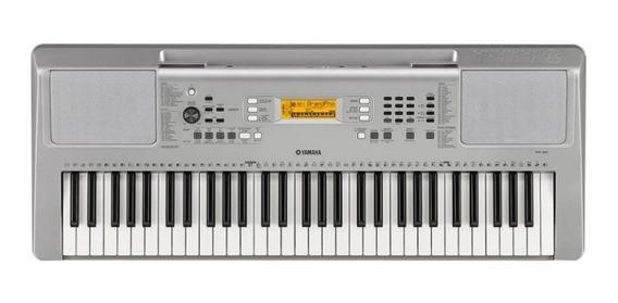 Teclado Musical Yamaha Ypt-360 Cinza Com 61 Teclas E 574 Ti