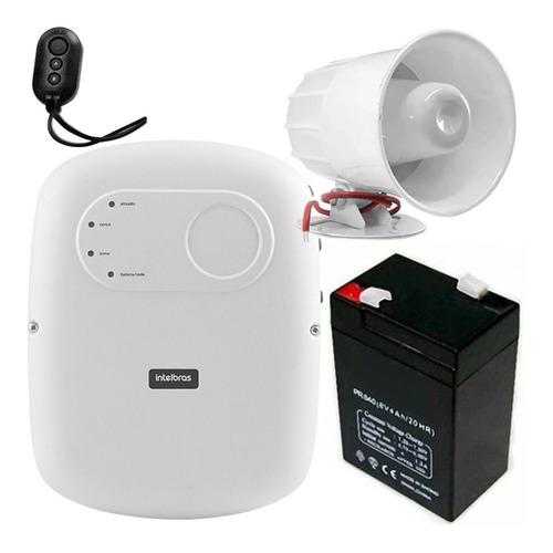 Kit Central Cerco Electrifico + Bateria + Sirena Martinez