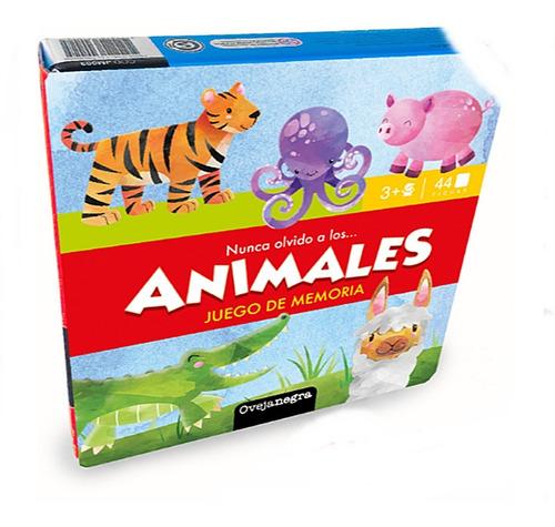 Juego Memoria Memotest Animales 44 Piezas Concentracion