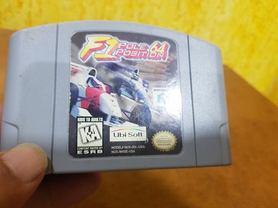 F1 Pole Position Usada Original Usa Nintendo 64