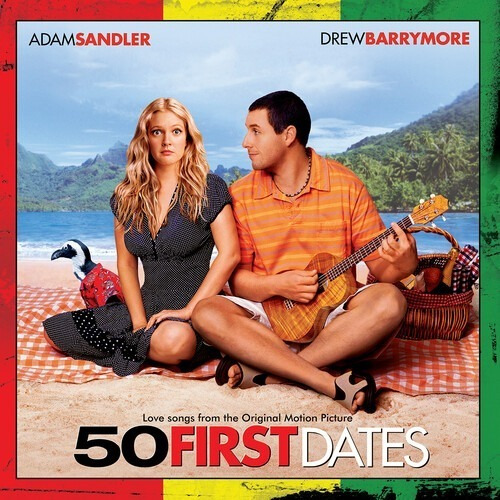 50 First Dates Soundtrack Vinilo Naranja Nuevo Lp Importado