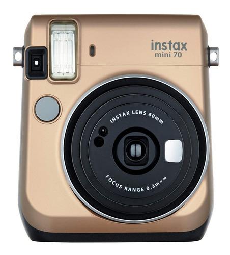 Fujifilm Instax Mini 70 Gold Cámara Instantánea
