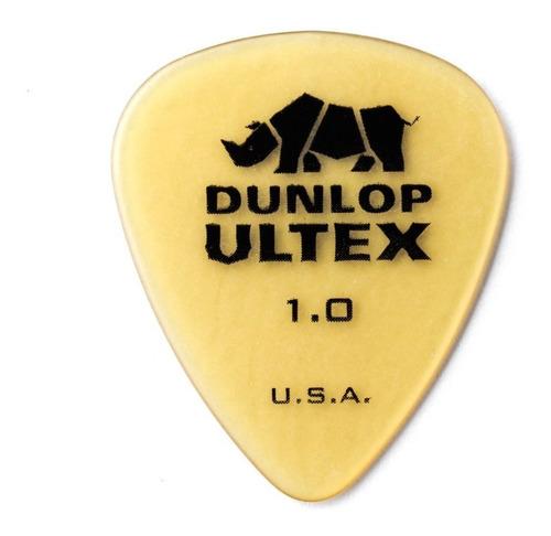 Imagem 1 de 5 de Palheta Dunlop Ultex 1.0mm Para Guitarra Kit Com 06 Unidades