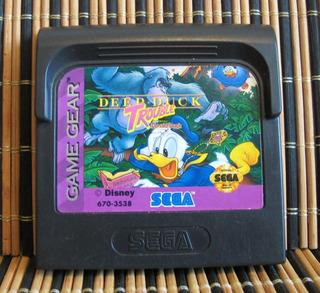 Deep Duck Trouble Starring Donald Duck - Sega Game Gear