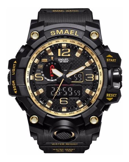 Smael Esporte Relógios À Prova D'água Digital Relógi