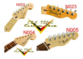 Adesivo Fender Para Headstock Da Guitarra