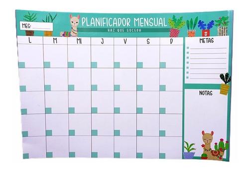 Pizarra Calendario Iman Organizador Semanal Decco Planning