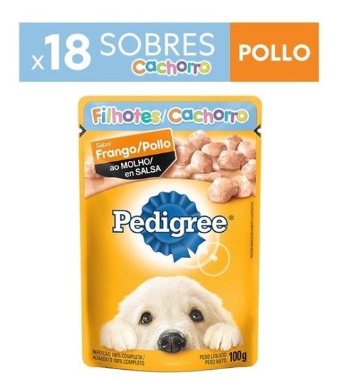 Alimento Perro Pedigree Sobre Cachorro Pollox100gr(pcx18un)