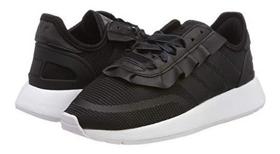 Tenis adidas Sneakers Negros Para Mujer #24.5