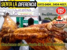 Cerdos Asados A Las Brasas Parrilladas De Cerdo Guatemala