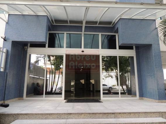Sala Comercial - Brooklin Paulista - 140 M² + 4 Vagas + Ar Condicionado A 200m Da Estação Brooklin Do Metrô! Portaria 24 Horas De Segunda A Domingo! - 979