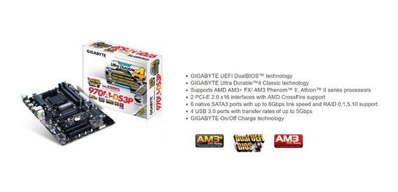 Kit Placa Mae Processador Memoria Amd Fx 8350 - Informática