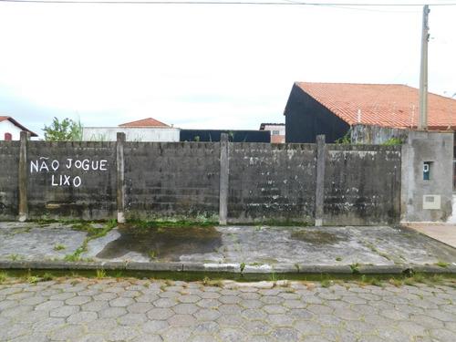 Imagem 1 de 5 de Balneário Oásis - Peruíbe / Sp - Terreno Residencial À Venda